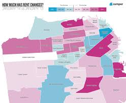 Map Of San Francisco Neighborhoods by Here U0027s A Map Of The San Francisco Neighborhoods With The Most