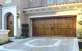 Wood Overhead Doors Custom Wood Doors Overhead Door Company Of Houston
