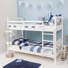 Blue Grey Bedroom by Furniture Great Design Of White Wood Bunk Beds To Create