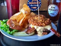 cuisine am icaine bar on the burger trail the joe burger at joe s bar grill