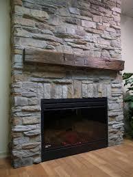 faux stone tile fireplace thesouvlakihouse com