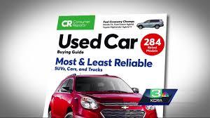 consumer reports used cars buying guide modesto news newslocker