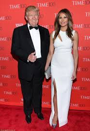 donald trump pays tribute to birthday melania at time 100