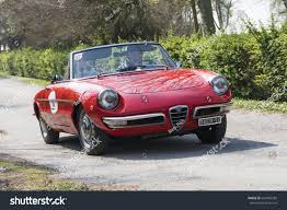 alfa romeo spider 2017 ferrara italy march 25 2017 italian stock photo 620495285