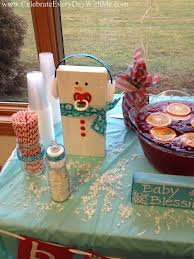 Walmart Baby Shower Decorations Baby Blizzard A Winter Baby Shower Celebrate Every Day With Me