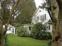 Dutch Colonial House Plans The Big White House On The Hill In Wedgwood Wedgwood In Seattle