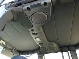 jeep soft top open amazon com hothead headliners 2007 2017 jeep wrangler jk 2 door