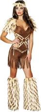 Matching Women Halloween Costumes Native American Indian Tribal Warrior Romper Halloween