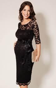 black dress uk amelia lace maternity dress black maternity wedding
