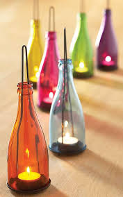 Wine Bottle Home Decor Dishfunctional Designs Glass Bottles Upcycled U0026 Repurposed As