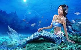 latest mermaid cartoon desktop resolution hd wallpapers free