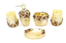 Skull Bathroom Accessories by Bathroom Decor Accessories Amazon Com