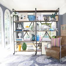 Reclaimed Wood And Metal Bookcase Christopher Knight Home Perth 5 Shelf Industrial Bookcase