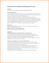 Resume Samples Healthcare Administration by Objective Statement For Healthcare Administration Resume Bt