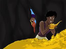 aladdin magic lamp children story tales gigi