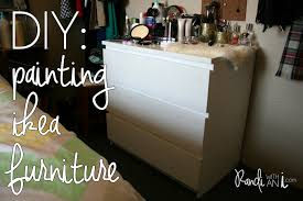 how to refinish ikea particle board furniture randi with an i