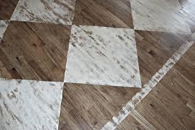how to paint a rug on wood floors