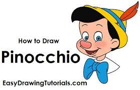 how to draw pinocchio jpg