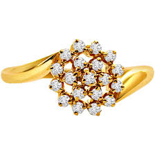 flower shaped rings images Floral ring flower shape diamond rings diamond rings online jpg