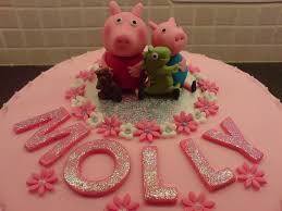 peppa pig 2 birthday cake helen flickr