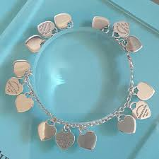 multi heart bracelet images Tiffany co return to co mini multi heart sterling silver 925 jpg