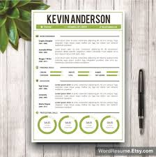 Best Buy Resume by Word Resume Template Cover Letter U2013 U201ckevin Anderson U201d