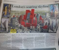 siege social alinea s soaring skyline alinea in the evening standard alinea
