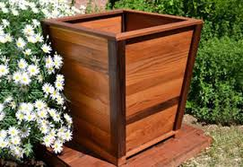 wooden planter boxes you can look building flower boxes you can