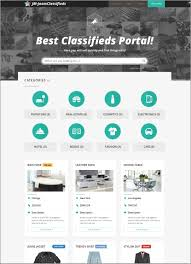 Free Real Estate Website Templates Wordpress by 11 Best Classified Scripts For Posting Auto Real Estate And Jobs Ads