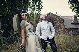 corpse wedding the couture company alternative bespoke custom made wedding bridal