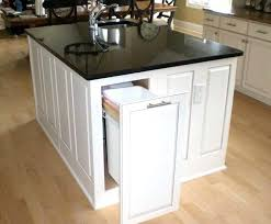 kitchen island with trash bin splendid horizon grafton kitchen island trash kitchen island with
