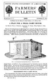a plan for a small dairy house digital library