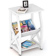 Nightstand With Shelves Amazon Com Magic Union X Design Side End Table Night Stand
