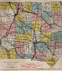 Pennsylvania County Map by 1900 U0027s Road Maps Of Pennsylvania