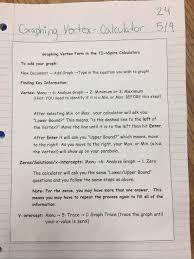 Writing On Graph Paper Algebra 1 Dearborn Public Schools