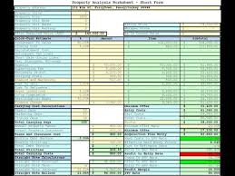 Estate Investment Spreadsheet Template by Estate Investment Spreadsheet Template Free Trial