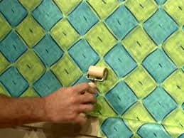 press on wallpaper how to hang wallpaper how tos diy