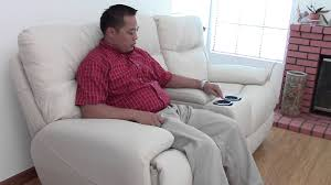 bad oliver power recliner from living spaces vista youtube