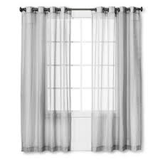 Target Linen Curtains Gray Threshold Curtains Target