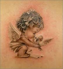 sleeping child angel tattoos google search learn more by