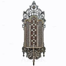 Decorative Wall Shelf Sconces Mediterranean Levantine U0026 Syrian Furniture Inlaid With Mother Of