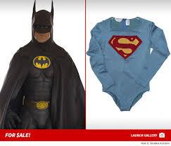 vintage superman and batman movie costumes on auction tmz com