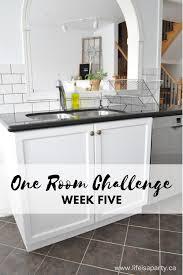 Kitchen Cabinet Makeover Kitchen Cabinet Makeover One Room Challenge Week Five