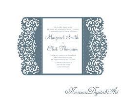 5x7 u0027 u0027 gate fold wedding invitation card template quinceanera