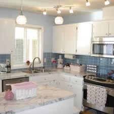 Blue Backsplash Tile by Interior U0026 Decoration Mirror Backsplash Tiles For Your Home Ideas