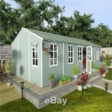 Summer Garden Sheds - summer house patio garden wooden large outdoor building shed cabin