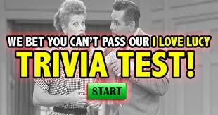 i love lucy trivia quiz quizfreak