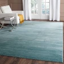 Area Rug Aqua Safavieh Vision Contemporary Tonal Aqua Blue Area Rug 4 X 6