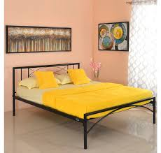buy ursa queen size bed without storage home by nilkamal black