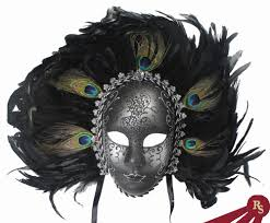peacock masquerade masks peacock feathered carnival masquerade mask venetian masks
